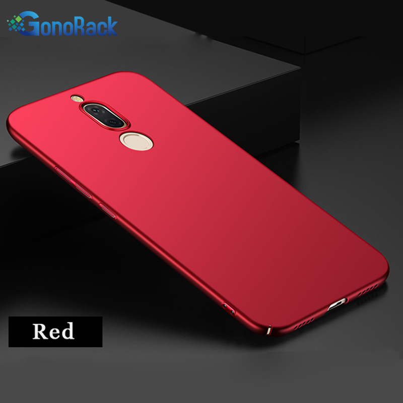 GonoRack 360 Full Matte Phone Case For MEIZU M6T Mblu 6T Cover Thin Hard Frosted PC Back Cover For MEIZU M6t Protective Shell