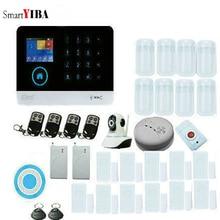 SmartYIBA WIFI Wireless Smart Home Security Alarm System Door Sensor Camera Protection Motion Detector 3G Network Burglar Alarm