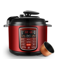 DMWD 11 Menus Electric Pressure Cooker 220V 5L Intelligent Rice Cooker Pressure Stewing Soup Pot 24H Appointment 900W
