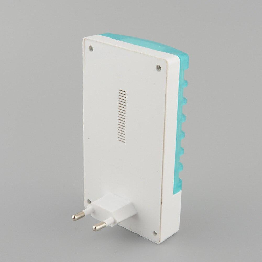 220V 1W мини LED сензор нощна лампа - Градински принадлежности - Снимка 6