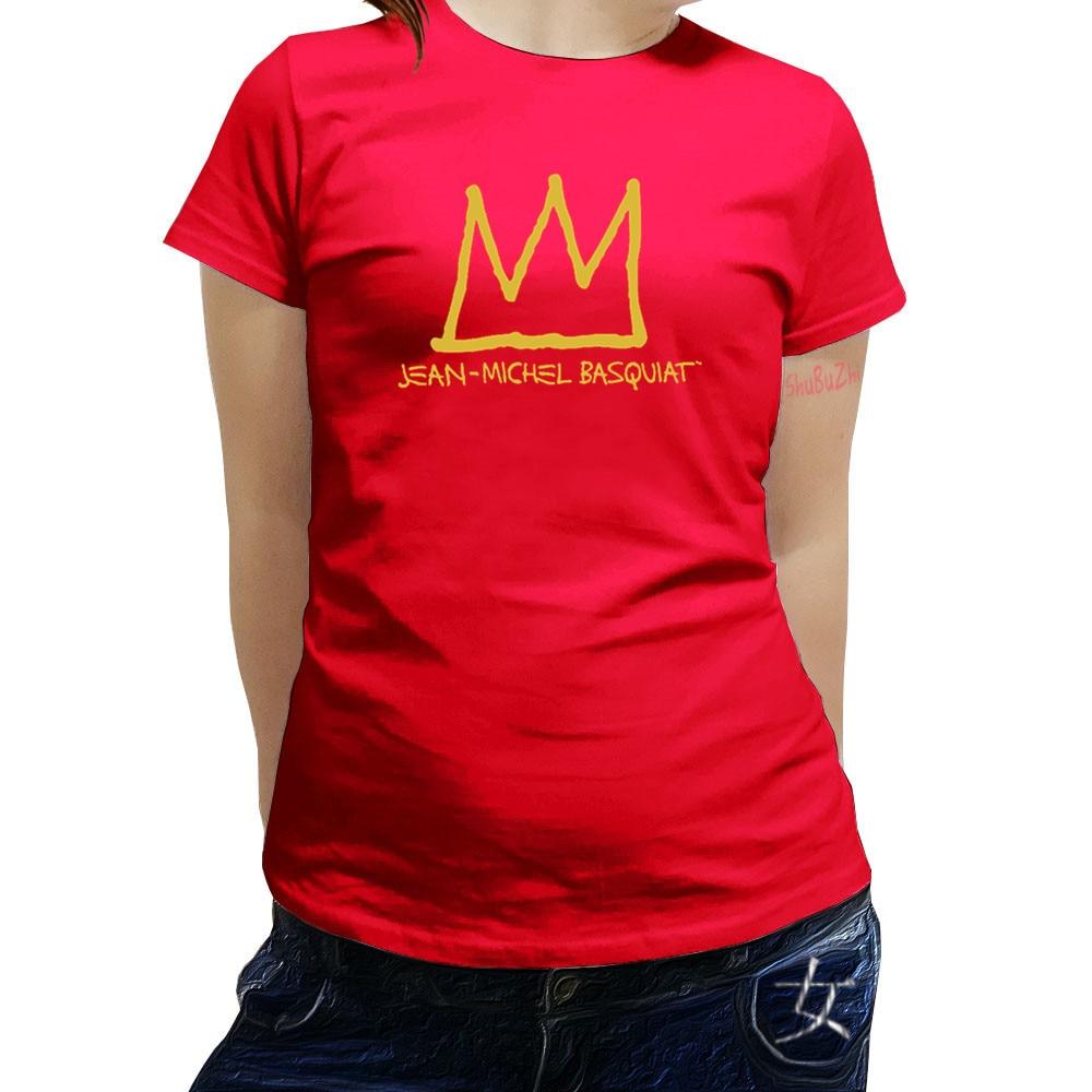 f052b831f1d6 new summer brand t-shirt women Fashion Jean MICHEL BASQUIAT Graphic T-shirt  cotton tshirt girls tops female brand tees