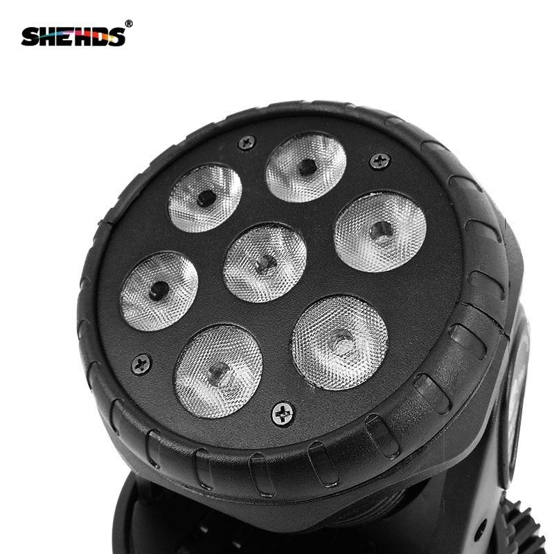 Image 4 - Fast Shipping LED Moving Head Wash 7x12w RGBW Lighting Quad with advancedDJ DMX 10/15Channels ,SHEHDS Stage Lighting-in Stage Lighting Effect from Lights & Lighting