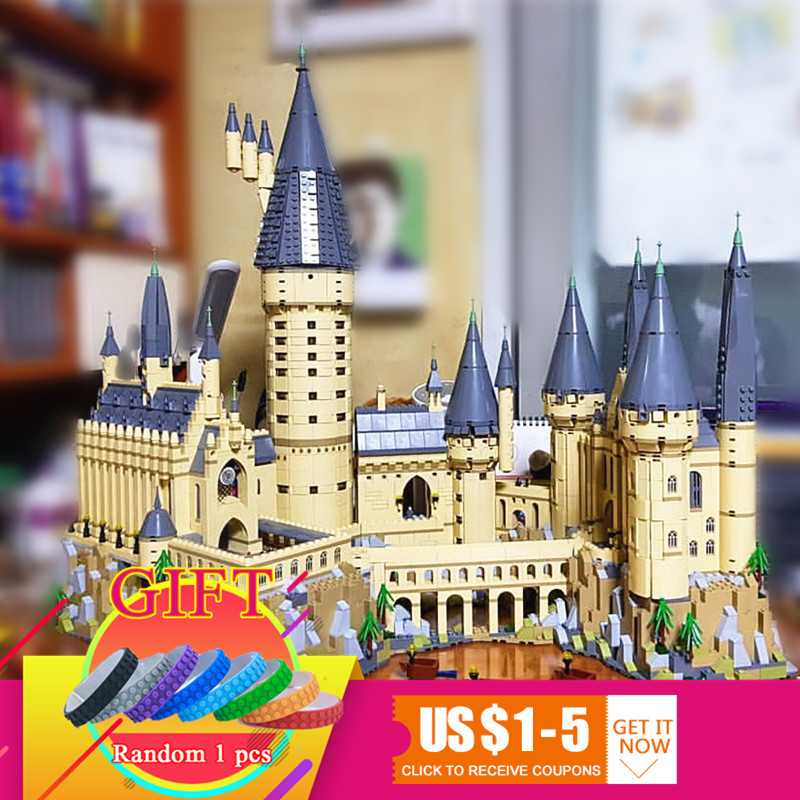 lepin 16060 harry film potter serie die legoinglys 71043 hogwarts castle weihnachten spielzeug 16042 pirates serie die stille 16060 6742pcs Harry Magic Potter Hogwarts Castle School Building Blocks Bricks Compatible with 71043 Educational Toy Model lepin