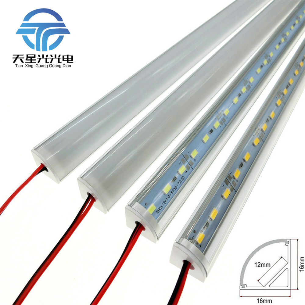 TXG 6st / lot kall varm naturlig vit DC 12V 50cm Hög ljusstyrka 5630 - LED-belysning