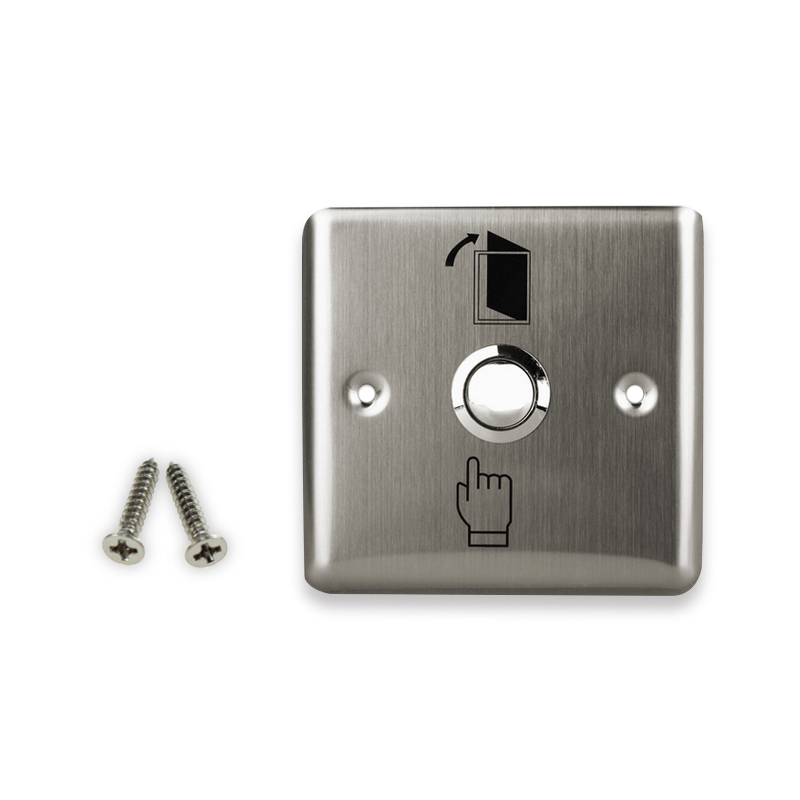 Release switch push to open the door for access control system Free shipping high quality stainless steel door exit button
