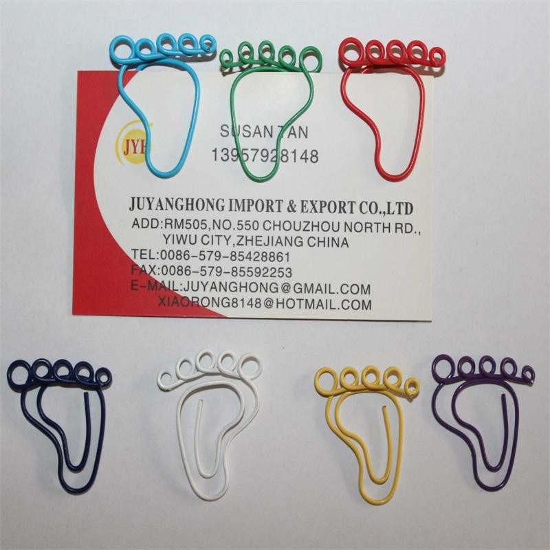 Foot Paper Clips [ 100 Piece Lot ] 7