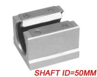 Free Shipping 5PCS Lot SBR50UU CNC Linear Ball Bearing Support Unit Pillow Blocks With Platen 50mm