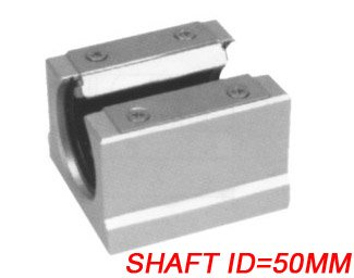 Free Shipping 5PCS/Lot SBR50UU CNC Linear Ball Bearing Support Unit Pillow Blocks  With Platen 50mm SBR Series