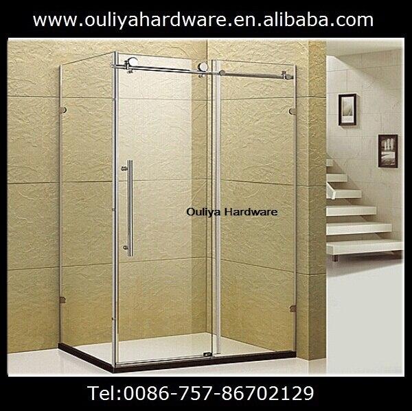 Ordinaire Free Shipping Stainless Steel Frameless Sliding Shower Screen Door Hardware