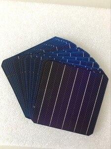 Image 1 - 10 pièces 5 W 156.75*156.75 MM photovoltaïque Mono panneau solaire cellule 6x6 Grade A haute efficacité pour bricolage panneau de silicium monocristallin