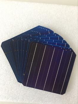 10 sztuk 5W 156 75*156 75 MM fotowoltaiczne Mono Panel słoneczny komórka 6 #215 6 klasy A wysoka wydajność dla DIY krzem monokrystaliczny Panel tanie i dobre opinie CN (pochodzenie) Rohs Ogniwa słoneczne 156 *75*156 75 Monokryształów krzemu watt 5w
