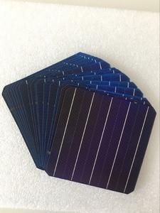 Image 1 - Célula de Panel Solar fotovoltaico monocristalino, alta eficiencia, para bricolaje, 5W, 156,75x156,75 MM, 10 Uds.