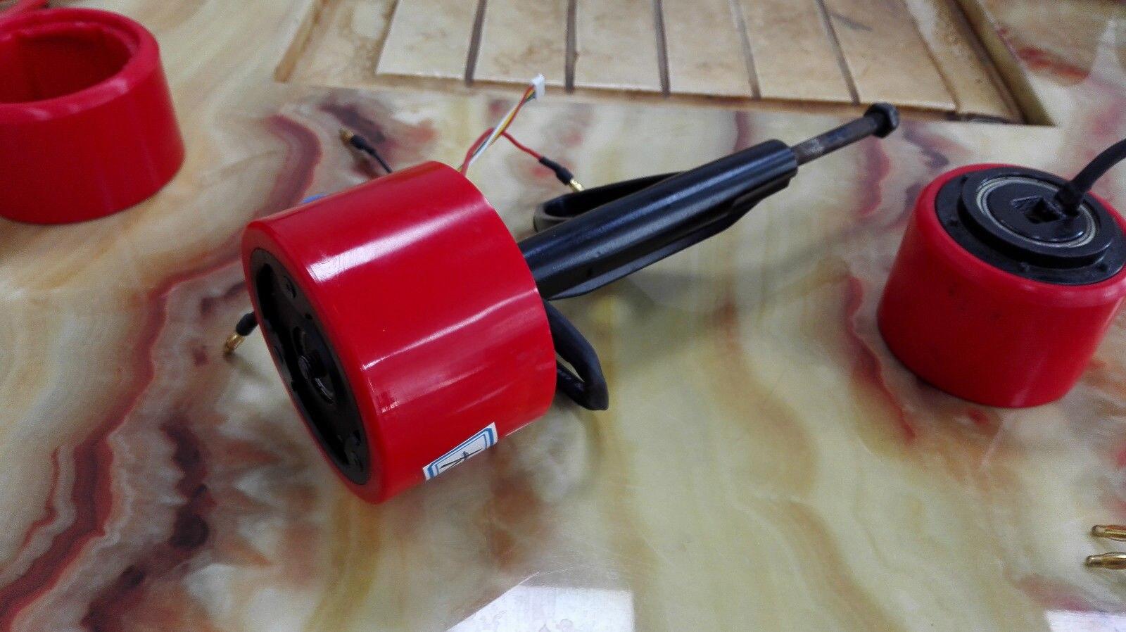 Bricolage planche à roulettes électrique longboard roue en polyuréthane intégré avec moteur sans balais