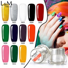 3 Pcs Set Kit Lvmay Brand Painting Gel Polish Nail Art Color 3D Drawing Paint Curing Lamp Soak Off Professional Nails Top It Off 3 pcs set kit lvmay brand painting gel polish nail art color 3d drawing paint curing lamp soak off professional nails top it off