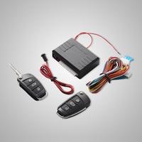 Universal Car Auto Sistema Keyless Entry Pulsante Start Stop LED Keychain Kit Serratura Della Porta Centrale con Telecomando
