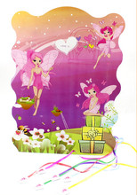 Lovely Fairy Printed Pinata