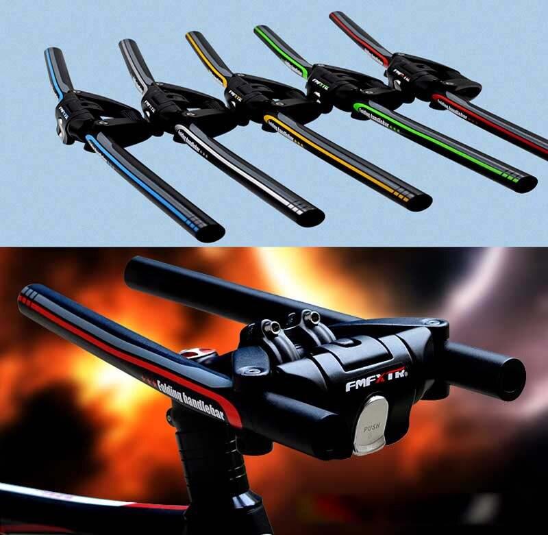 FMF Bike Foldable Handlebar 25.4mm/31.8mm*620mm Aluminum Alloy Bicycle Folding MTB Road Fixed Gear