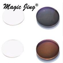 Magic Jing 20 пар/лот 1,56 индекс фотохромные солнцезащитные очки-хамелеоны линзы HMC AR EMI по рецепту линзы для очков «RX» миопическая линза