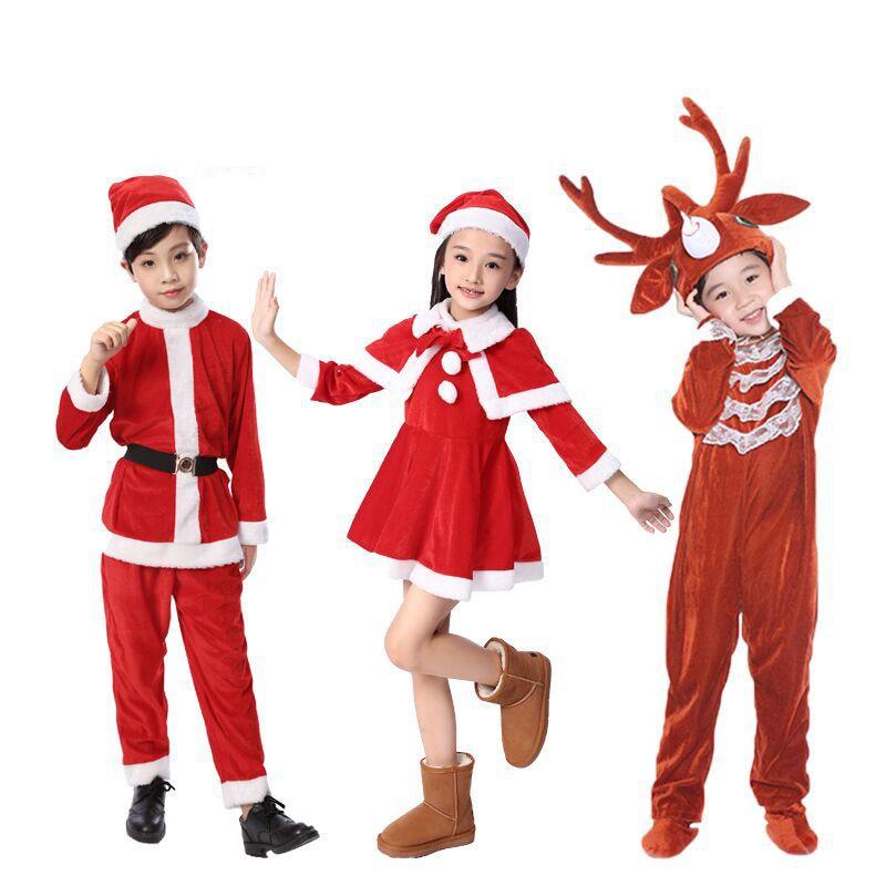 kids christmas costumes boys Animal Costume Show Reindeer ...