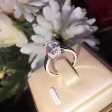 S925 Silver Diamond Engagement Ring Carat Simulation Anillos De Ring Bague or Jaune Bizuteria for Women Jewelry Ring Gemstones цены онлайн