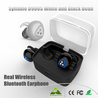Dhl送料無料syllable d900sリアルワイヤレスイヤホンecouteurs auriculares deportivosミニfoneのデouvido bluetooth telefono