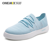 ONEMIX Women Lightweight Casual Shoes Slip-on Breathable Mesh Upper Sneakers For Men zapatillas hombre