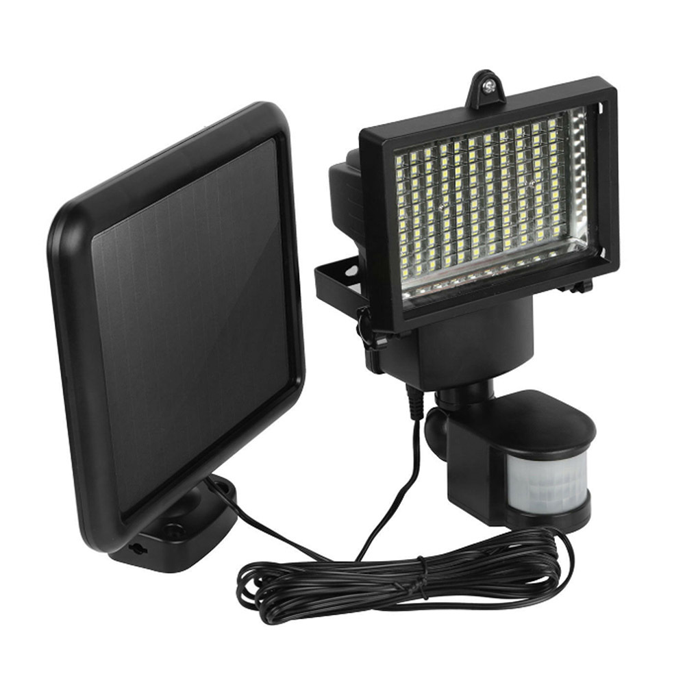 120 LED Solar Induction Lamp Wall Mounted LED Solar Light Outdoor Solar Spotlight With PIR Sensor Motion Detector High Quality