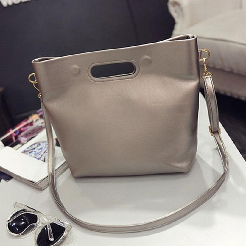 MOLAVE Shoulder bags new high quality leather Fashion Simple Cross Body solid women shoulder bags crossbody bag jan21