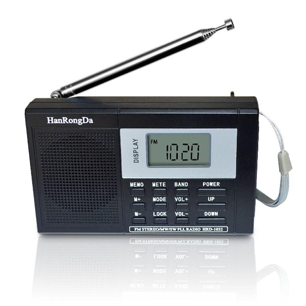Tragbare Full-band Digital Tuning Multiband Stereo Tuner Mw/am/fm/sw Kurzwellen Radio Rec Control Empfänger Durch Wissenschaftlichen Prozess Unterhaltungselektronik