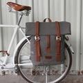 Tourbon винтажная уличная велосипедная сумка Pannier, сумки для сидений, велосипедная сумка для езды на велосипеде, наплечный рюкзак для отдыха, по...