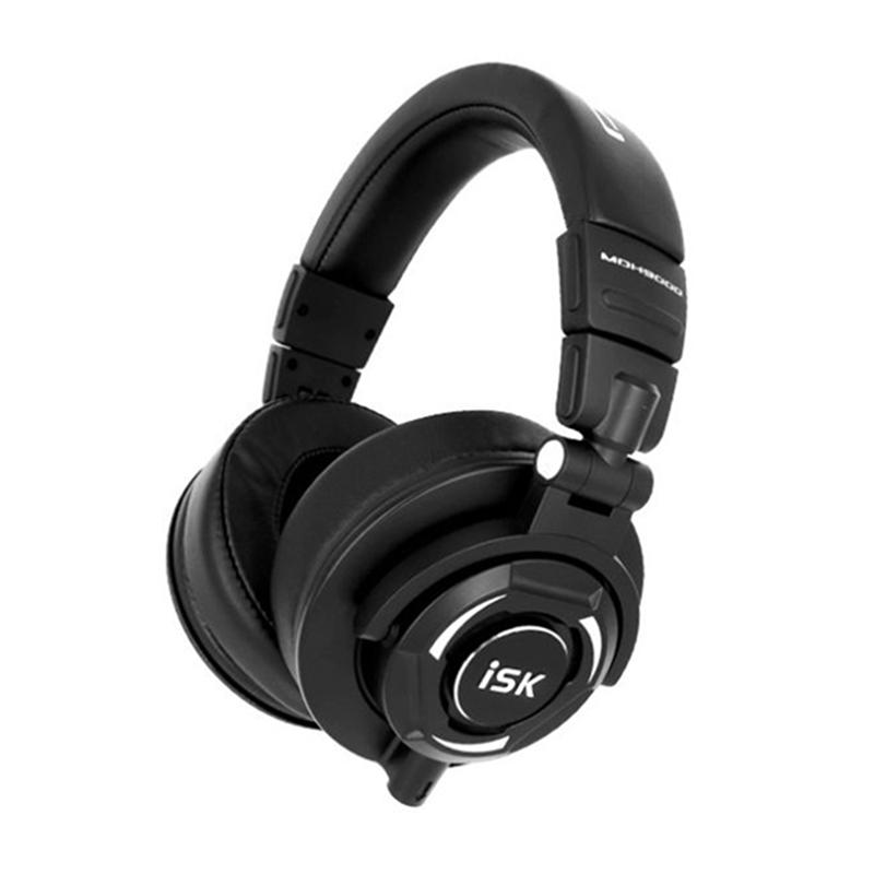 Professionale Monitor Cuffie Studio ISK MDH9000 Dinamico 1800 MW Potente DJ Over Ear Noise Cancelling HiFi Auricolare Auriculars