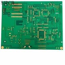 SJPCB 4 слоя погружения золото с высокой точностью технологии зеленая Сварочная маска многослойный PCB прототип