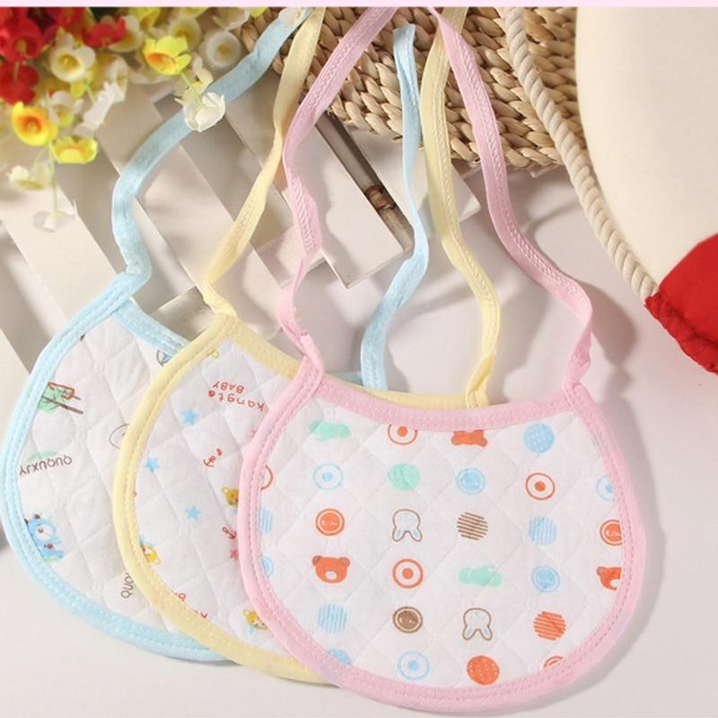 TPU waterproof bib three colors Cute pattern Baby bib Baby Bavoirs Value