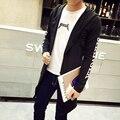 Europe&america New Hoody Sweatshirts Long Sleeves Men Outwear Streetwear Cardigan Style Hoodie Men's Plus Size Long Hoodies 5XL