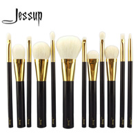 NEW Jessup 12pcs Professional Makeup Set Pro Kits Brushes Makeup Cosmetics Brush Tool Foundation Eyeshadow Powder