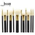 NEW Jessup 12pcs Professional Makeup Set Pro Kits Brushes makeup cosmetics brush Tool foundation eyeshadow powder Lip wool