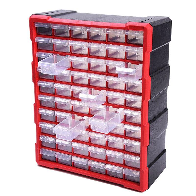 Aletler'ten Alet Kutuları'de Parçaları kutusu Sınıflandırması ark Çok ızgara çekmece blokları yüksek kaliteli Vida sınıflandırma Bileşen kutusu alet çantası araç kutusu title=