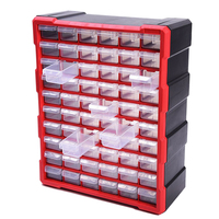 Parts box Classification of ark Multi grid drawer blocks high quality Screw classification Component box tool case toolbox