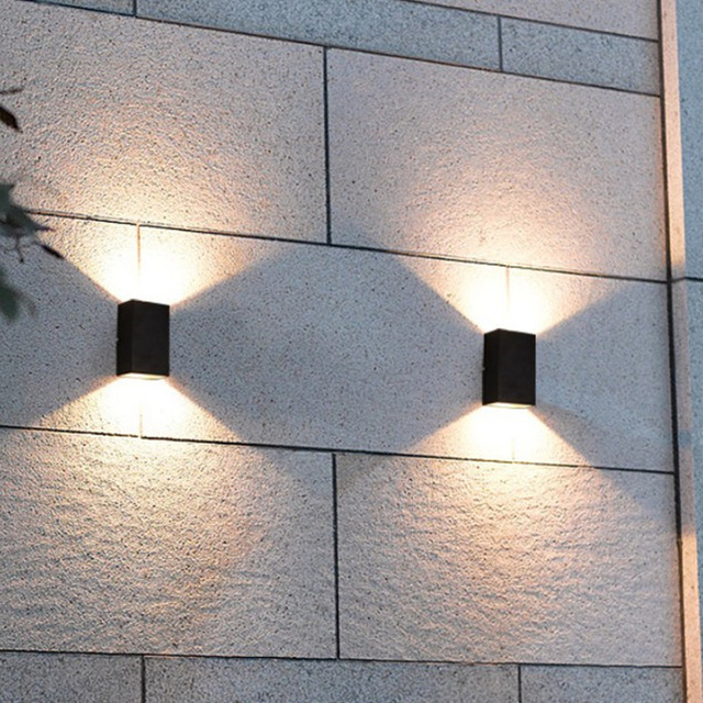 Modernas l mparas de pared al aire libre 10 w de luz led - Lamparas de aplique para pared ...