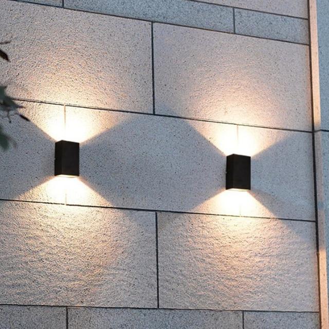 moderno l mparas de pared para exterior 10 w apliques de On apliques de pared exterior