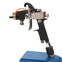 W-200-152HP 1.5mm Nozzle Size Pressure Feed Dubbele Vloeibare Mix Verfspuitpistool Mini Air Verfspuitpistool Airbrush Voor schilderen