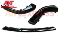 Fangs On Front Bumper And Central Insert For Mitsubishi Lancer X 2007 2010 2 0 Car