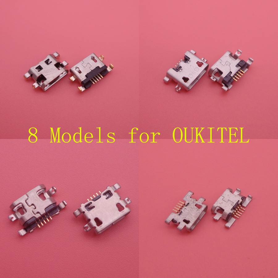 2PCS For OUKITEL K10000/K10000 Pro/Mix 2/U22/U15 Pro/U15S/K8/K6 Micro Mini Usb Jack Socket Dock Charging Charger Port Connector