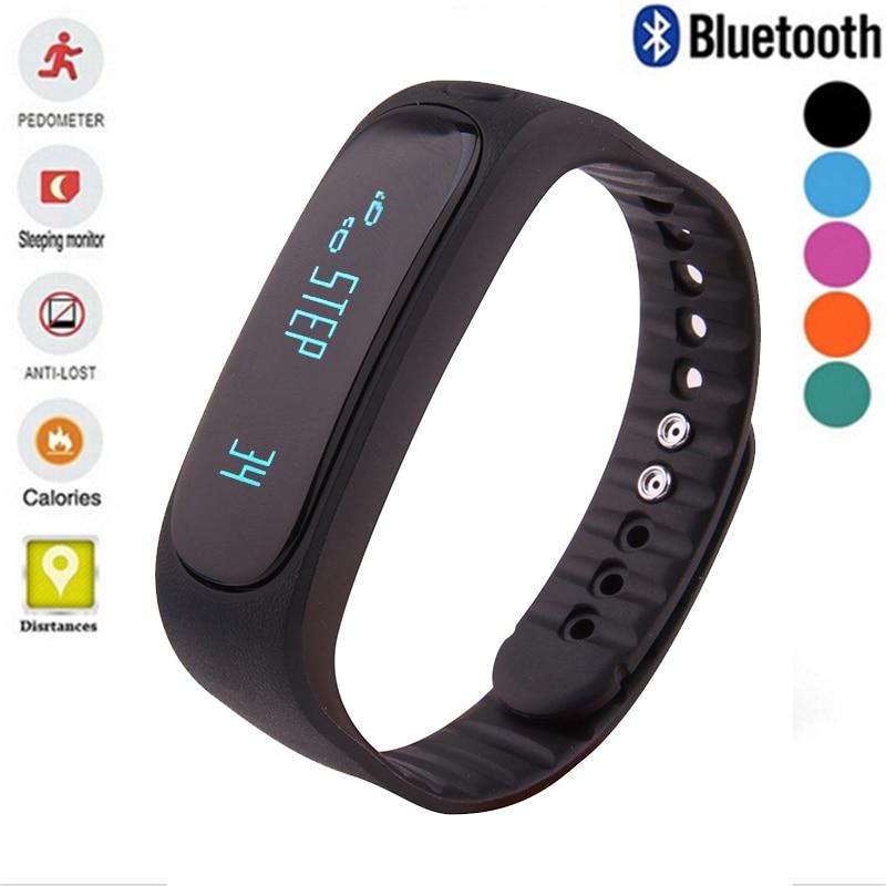 Waterproof Bluetooth font b Smart b font Bracelet Activity Tracker Bracelet Band Call SMS Remind Sport