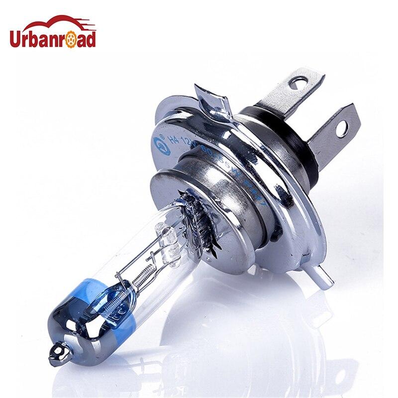 Urbanroad 2015 New 2pcs H4 Xenon Halogen Auto Car HeadLight Bulb Kit Platinum (Pt) Chrome Head H4 HID 4300K 12V 60/55W eset nod32 антивирус platinum edition 3пк 2года