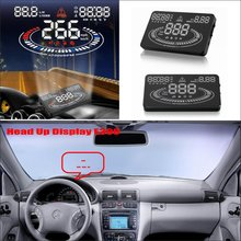Liislee For Mercedes Benz C C63 MB W202 W203 W204 W205 - Car HUD Head Up Display  Reflect on windshield to monitor speed
