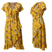93febca390871 Buy flower yellow dress and get free shipping on AliExpress.com