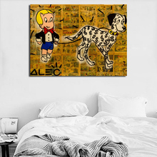 Alec Monopolies RICHIE Rich Wall Art Canvas Poster And Print Painting Decorative Picture For Bedroom Home Decor Artwork