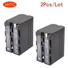 JHTC 2Pcs/lot 7800mAh NP-F970 NP-F960 Digital Camera Battery for Sony NP-F960 NP-F970 Battery NP F970 NP F960 Batteria