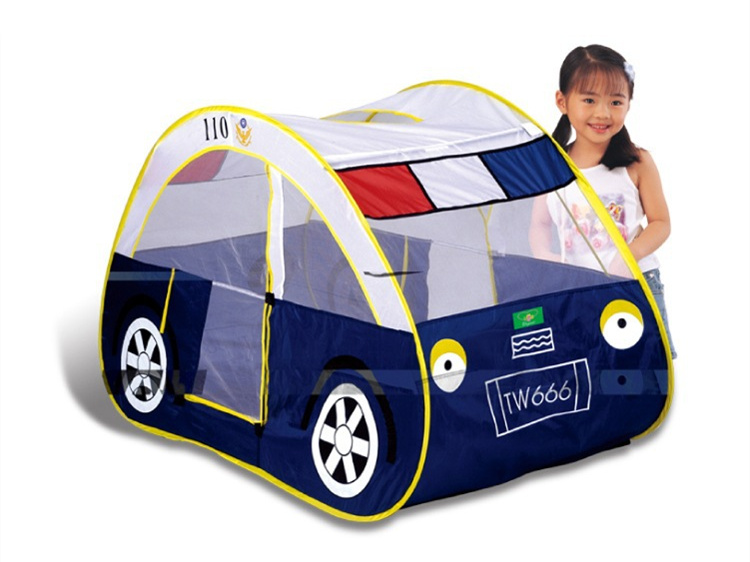 Indoor outdoor camping cartoon car tent House Ocean ball pool child park picnic holiday game play tent baby kids toy